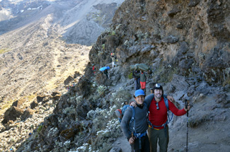Barranco Wall Climb 2
